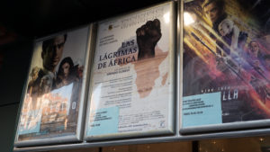 Cartel en cines